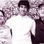 Farhat Khan Parents with her brother Aamir Khan