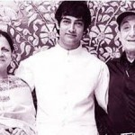 Nikhat Khan Parents with her brother Aamir Khan