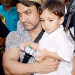 Aamir Khan with his son Azad Rao Khan