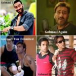 Ajay Devgn In Golmaal Series