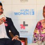 Farhan Akhtar At A UN Women's Goodwill Event