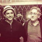 Farhan Akhtar With His Inspiration Robert De Niro