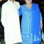 Farhan Akhtar With His Biological Mother Honey Irani