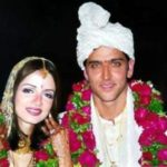 Hrithik Roshan And Sussanne Wedding Pic