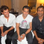 Hrithik Roshan Smoking cigarette with Salman Khan