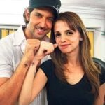 Sussanne Khan and Hrithik Roshan tattoo