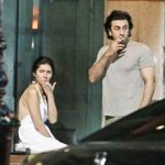 Ranbir Kapoor and Mahira Khan smoking