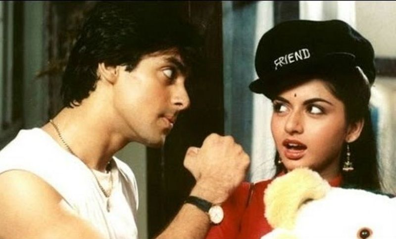 Image result for salman khan maine pyar kiya with coat paint