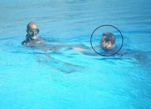 Salman Khan Swimming