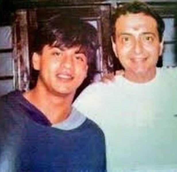 Shah Rukh Khan With Vivek Vaswani