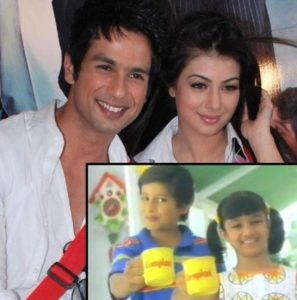 Shahid And Ayesha As Child Artists In Complain Ad (Then) And Now