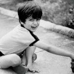 Shahid Kapoor childhood photo