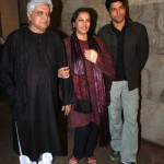Farhan Akhtar With His parents