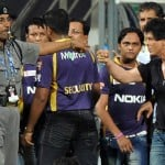 Shahrukh Khan Fights at Wankhede