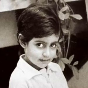 Abhishek Bachchan Childhood Photo