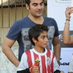 Arbaaz Khan with his Son Arhaan Khan