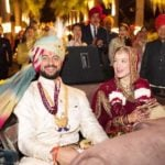 Arunoday Singh's Wedding Picture