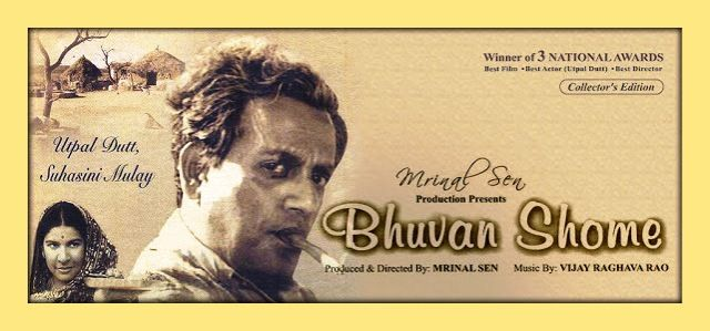 Amitabh Bachchan gave his voice in Bhuvan Shome