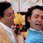 Bobby Deol With His Brother In Dillagi