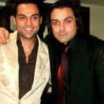 Bobby Deol With His Cousin Abhay Deol