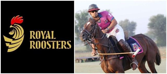 Randeep Hooda Royal Roosters Polo Team