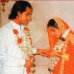 Saif Ali Khan And Amrita Singh Marriage Picture