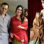 Saif Ali Khan And Kareena Kapoor's Marriage Picture