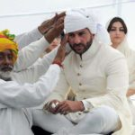 Saif Ali Khan At Pagri Ceremony