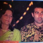 Sunny Deol With His Mother Prakash Kaur