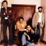 Abhay Deol with Dharmendra, Sunny Deol and Bobby Deol