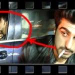 Arjun Kapoor Smoking Cigarette