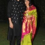 Aditya With His Sister In Law Vidya