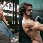 Arjun Rampal Exercising