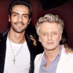 Arjun Rampal With Rohit Bal