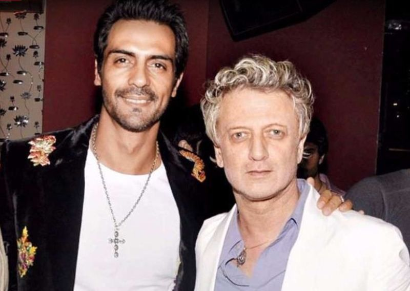 Arjun Rampal With Rohit Bal
