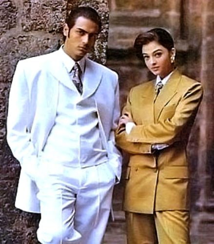 Arjun Rampal With Aishwarya Rai In His Modelling Days