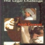 Arnab Goswami book Combating Terrorism The Legal Challenge