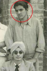 Dharmendra in his teen ages