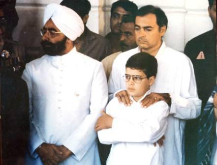 Rahul Gandhi Girlfriend Veronique Cartelli Rahul gandhi with his father