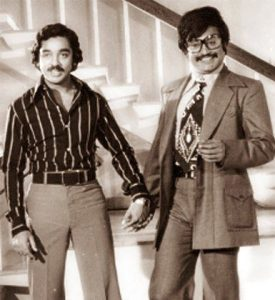 Rajinikanth and Kamal Haasan in Apoorva Raagangal
