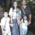 Arshad Warsi With His Wife and Children