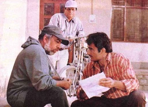 Akshaye Khanna With JP Dutta During The Making Of Border