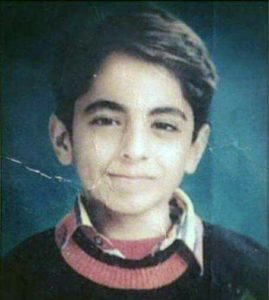 Childhood photo of Ayushman Khurrana