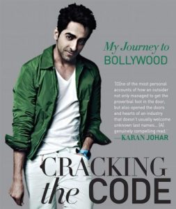 Ayushman Khurrana's Book 'Cracking the Code - My Journey To Bollywood'
