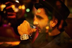 Ranveer Singh drinks alcohol