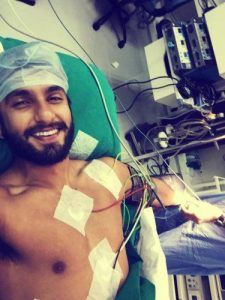 Ranveer Singh injury during Bajirao Mastani