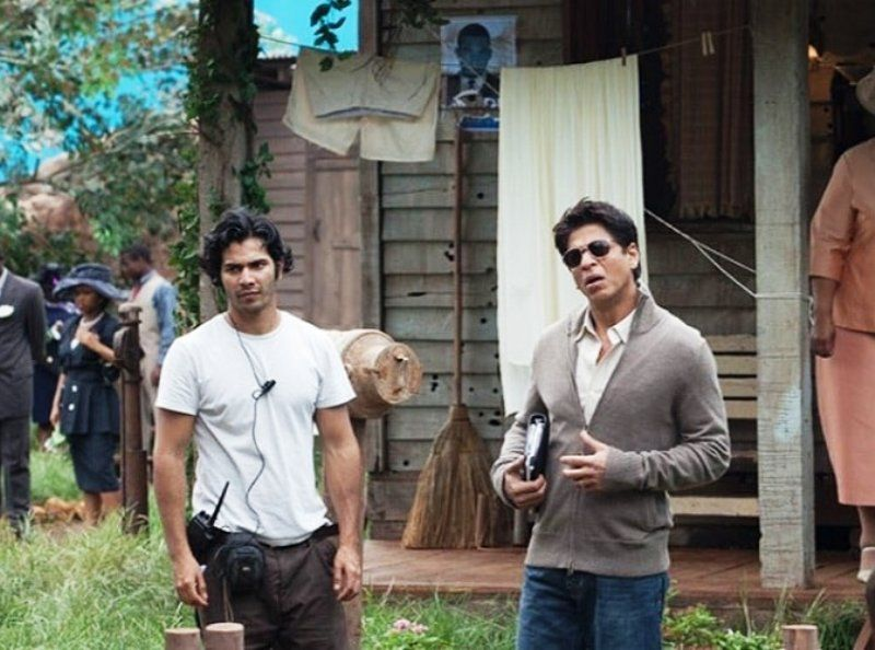 Varun Dhawan as an Assistant Director on the Sets of My Name is Khan