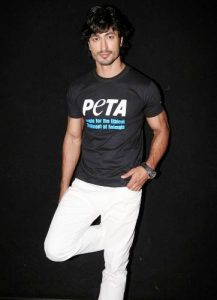 Vidyut Jamwal is supporter of PETA