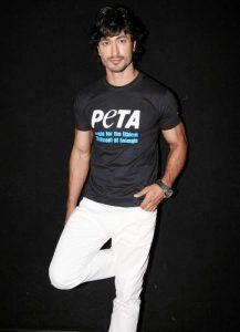 Vidyut Jamwal is supporter of PETA