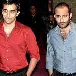 AKshaye Khanna with his brother Rahul Khanna